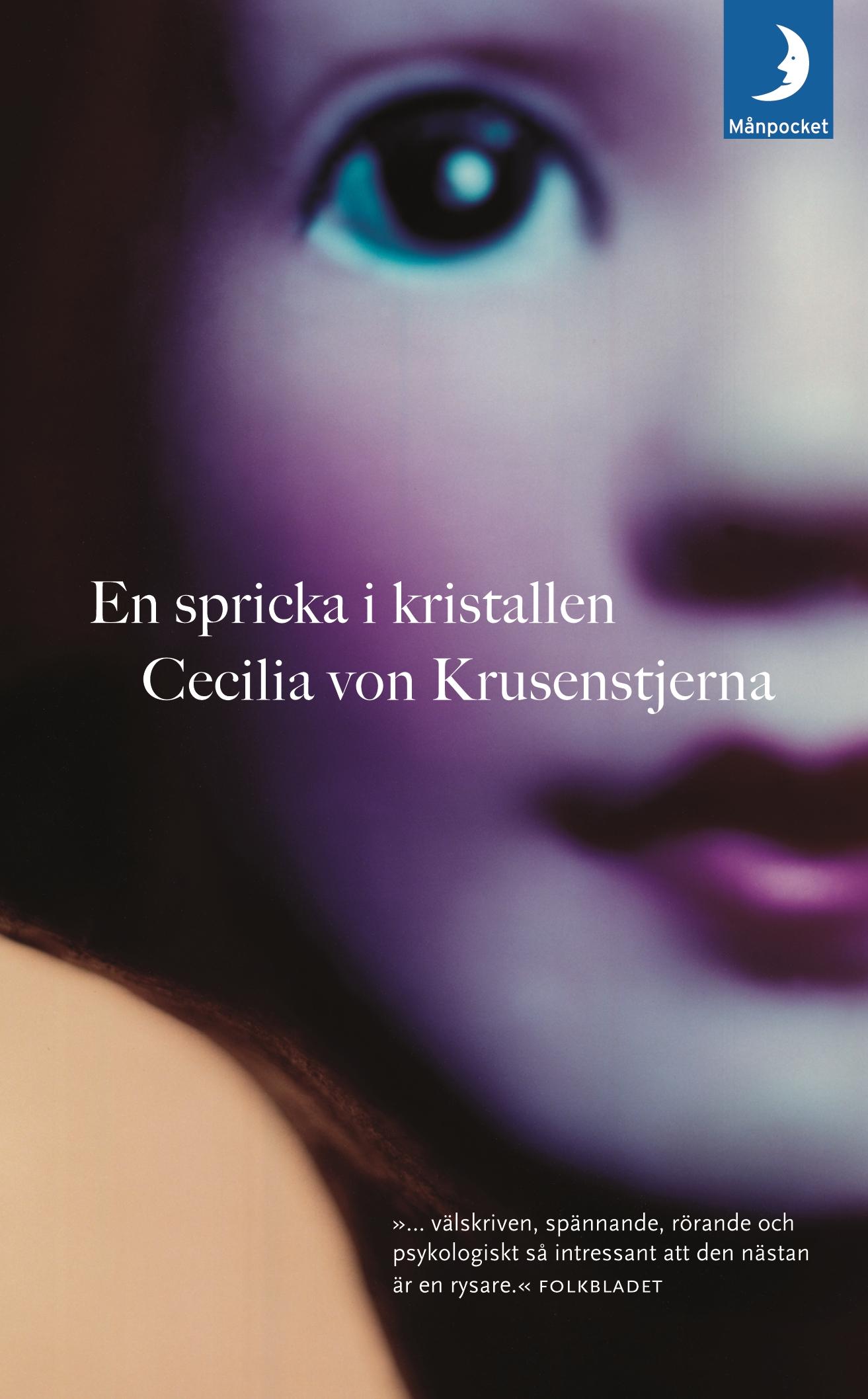 """""""En spricka i kristallen"""" av Cecilia von Krusenstjerna"""